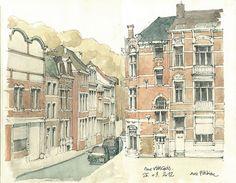 Liège, rue Vivegnis by gerard michel, via Flickr