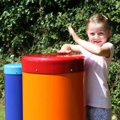Rainbow Sambas | Outdoor Drums for Play Areas