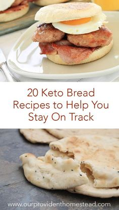 Are you on the keto diet plan? Click here to see 20 keto bread recipes to help you stay on track and see how good low carb can be! #keto #ketorecipes #ketodiet #ketolife #ketobread #lowcarb #lowcarbbread #lowcarbrecipes via @ourprovidenthom