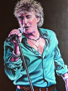 Rod Stewart - Commission SOLD