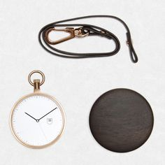 MMT Calendar wooden pocket watch now available at Dezeen Watch Store