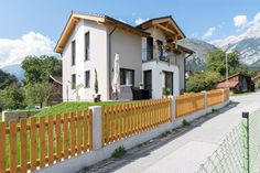 Deck, Mansions, House Styles, Outdoor Decor, Home Decor, Bracelet, Detached House, Build House, Homes