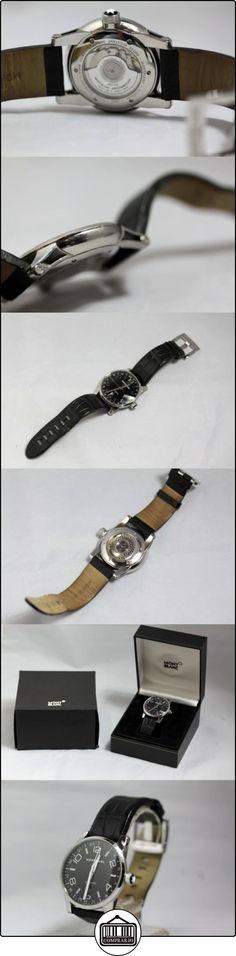 Montblanc Timewalker 42 mm negro Alligator correa 109136  ✿ Relojes para hombre - (Lujo) ✿