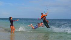 Buen Hombre Kiteboarding Lifestyle. Kitesurfing school and Kite lessons. Bungalow On The Beach, Kite School, Kitesurfing, In This Moment, Lifestyle, Water, Water Water, Aqua