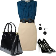"""""""Black & Blue."""" by alttra on Polyvore"""