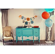 bunting lights giant balloons barn wedding  | Home » Wedding Ceremony » Giant Round Balloon