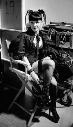 Abby Sciuto (Pauley Perrette) from the NCIS television series