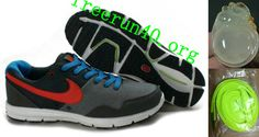 Mens Nike Lunarfly Black Gray Red Shoes
