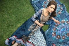 Reema Khan Photo Shoot for Deeba Premium Summer Collection 2013 by Shariq Textiles.