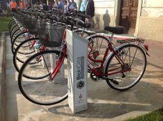 RIVAROLO - Tutti in bicicletta con il bike-sharing - FOTO e VIDEO