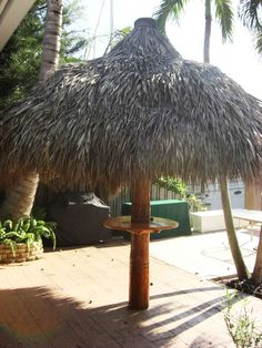 Palmhuts helps you to build a most Tiki-themed culture in your home or commercial uses like custom Tiki Huts, Tiki Bars or Tiki Breezeways all over the Florida. Their specialists are removing the wood structure of your damaged palm frond.
