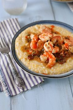 Shrimp and Grits is very tasty if you've ever had it, which I recently just discovered to be honest. I have never made this myself, but definitely will in the near future. Not the lightest of meals, but worth the splurge.