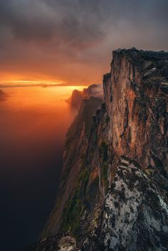Senja, Norway on 500px by Federico Penta ☀ NIKON D810-f/10-1/1s-14mm-iso100, 1335✱2000px-rating:97.3 ◉ Photo location: Google Maps