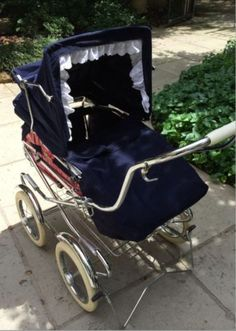 Vintage-1970s-Perego-Pram-Carriage-and-Stroller-Combo