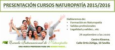 SEVILLA: Presentación de los Cursos de Naturopatia