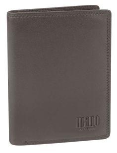 Kleine Brieftasche mit 2 Klappen (braun) - M19010BR
