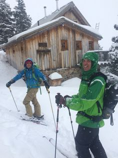 Arriving at the OPUS hut! Such a good place for a backcountry ski adventure! Ski Touring, Alps, Wilderness, Backpacking, Skiing, Colorado, Traveling, Wanderlust, Winter Jackets