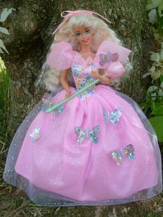 Butterfly Princess Barbie 1994 by Patty Is Totally Addicted To Barbie, via Flickr