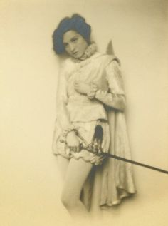 "insearchofpaganhollywood: ""Elisabeth Bergner for Dona Juana (1927) """