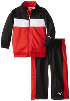 PUMA Baby Boys Cat Tricot Set Red 24 Months ** More info could be found at the image url. (This is an affiliate link) #BabyBoyHoodiesandActive