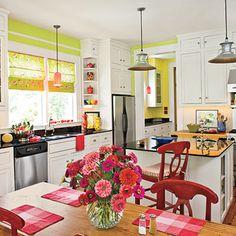 Farmhouse white kitchen