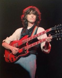 Jimmy Page. ARMS Tour 1983