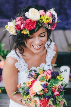Mariage Gypsy Bohème -  wedding planner Elle Imagine www.elle-imagine.com - Photo winterbirds - Fleurs Avril Mai