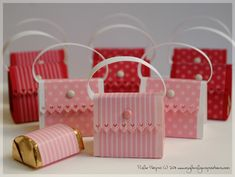 Hershey nugget purse favors
