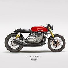 Moto Guzzi Le Mans !