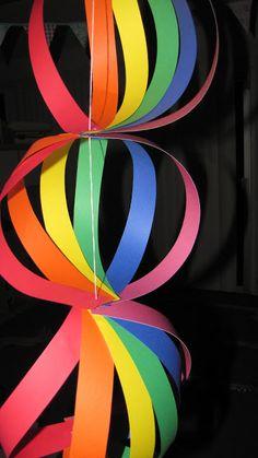 Rainbow Birthday Garland