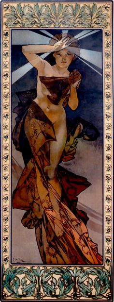 Alphonse Mucha Morning Star