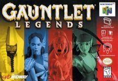 Gauntlet Legends N64 by Atari/Midway