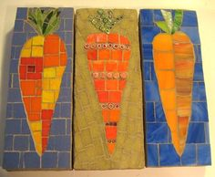| Carrot Mosaic Tile - Jesse W Lord Johnson