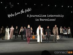 Notes from the Field: My Barcelona Journalism Internship Study Abroad, Volunteers, Journalism, Connect, Barcelona, College, Student, Journaling, University