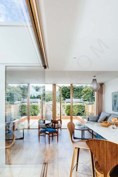 Extension with internal courtyard to a terraced house | Interior, Architectural & Advertising Photographer with a library of house features for publishers Dyi, Tiny Studio Apartments, Space Saving Beds, Advertising Photographer, Masculine Interior, Internal Courtyard, Terraced House, Minimalist Apartment, Interior Photography