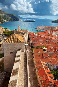 Dubrovnik, Croatia - would love to go here. My family is primarily Croatian.