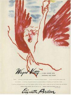 Winged Victory - Elizabeth Arden, 1945