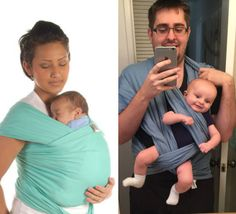 Daddy Moby Wrap: Nailed It
