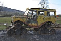 1963 #LandRover Series IIA- #Cuthbertson Tracked Conversion