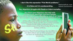 """First World Problems"" found on thefabweb.com"