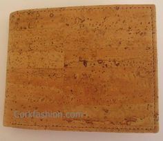Wallet (model CC-1233) - Eco-friendly - made of real cork. From www.corkfashion.com