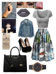 Wild + Free by adavies1115 on Polyvore featuring polyvore, moda, style, Madewell, Chicwish, MICHAEL Michael Kors, Marc Jacobs, Casetify, Lime Crime, fashion and clothing