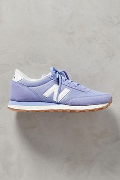Slide View: 2: New Balance WL501 Suede Sneakers
