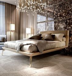Italian contemporary furniture - The best luxury interior design and architecture all over the east coast with order with delivery in California and the USA 🚀. Order and buy ⭐Italian contemporary furniture 🔥 online in Antonovich-Design store ✅ Luxury Bedroom Design, Master Bedroom Interior, Bedroom Bed Design, Bedroom Seating, Bedroom Furniture Design, Home Decor Bedroom, Interior Design, Interior Modern, Luxury Interior