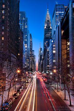 42nd Street ~ NYC Chrysler Building