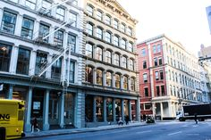 Apartment buildings in Soho. Photo credit: Jessica Parker #NYC
