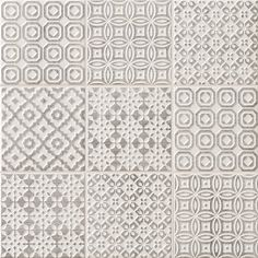Batik Patchwork Grey tile - Topps Tiles per loveliest tiles I have bought, look fab with cream kitchen! Kitchen Splashback Tiles, Bathroom Floor Tiles, Kitchen Flooring, Tile Floor, Morrocan Floor Tiles, Grey Kitchen Tiles, Bathroom Grey, Room Tiles, Moroccan Tiles