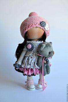 Куклы тыквоголовки ручной работы. Ярмарка Мастеров - ручная работа. Купить  Интерьерная текстильная кукла. e79f03fcbd2