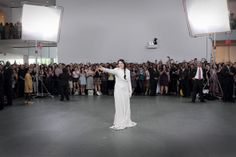 Marina Abramovic at the MOMA in 2010 after her sit-in