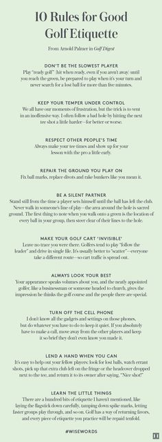 Golf Tips For Women 10 Rules for Good Golf Etiquette Golf Tips - At What Point is it Wise to Get a Golf Caddy? Can Improving Golf Swing Mechanics Improve Your Golf Game? Golf Putting Tips - 3 Golf Putting Tips to Help You Instantly Improve Your Putts! Golf Etiquette, Golf Handicap, Golf Training, Baseball Training, Training Equipment, Basketball Tricks, Volleyball Tips, Golf Putting Tips, Frases